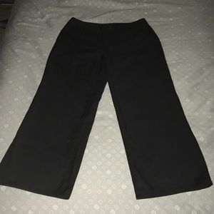 Size 4 Black Dress pants Hemmed to 27inch Inseam